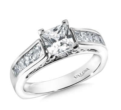 Diamond Engagement Ring at Milkins